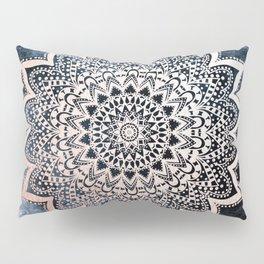 BLUE BOHO NIGHTS MANDALA Pillow Sham