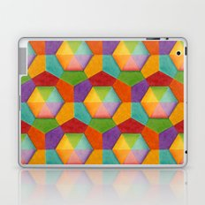 Geometric Rainbows Laptop & iPad Skin