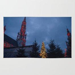 Christmas in Brussels Rug