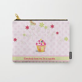 Cupcake Love Carry-All Pouch