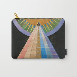 Altarpiece, Group X, No.1 by Hilma af Klint Carry-All Pouch