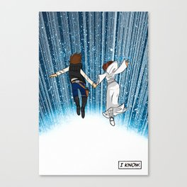 The Captain and the Princess Canvas Print