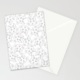 Hello Cats // Lots of Cats Stationery Cards