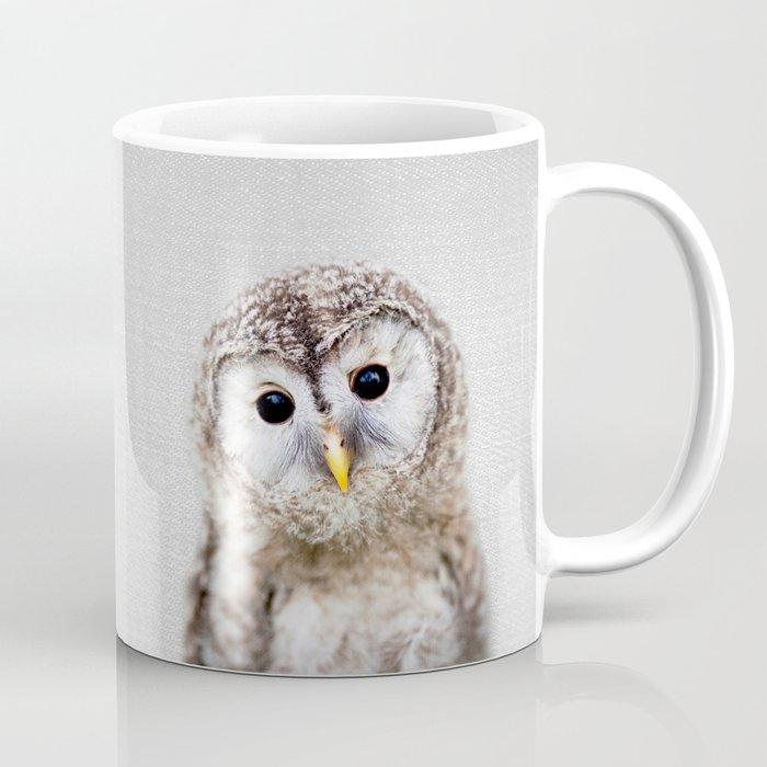 Baby Owl - Colorful Coffee Mug