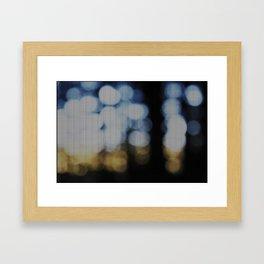 Redwood Blur Framed Art Print