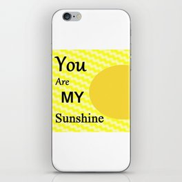 Sunshine - Typography iPhone Skin