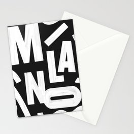 Milano Routes Stationery Cards