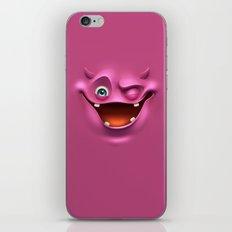 Winking face iPhone & iPod Skin