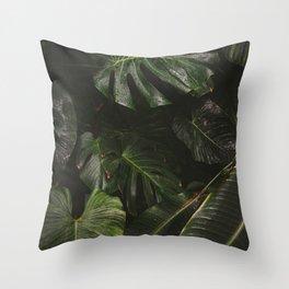 Botanic Garden Throw Pillow