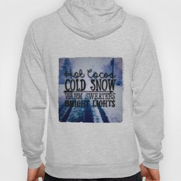 Winter love Hoody