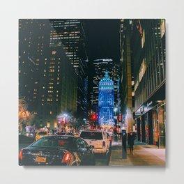 Met life, Manhattan, New York Metal Print