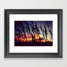 Prairie Skies Framed Art Print