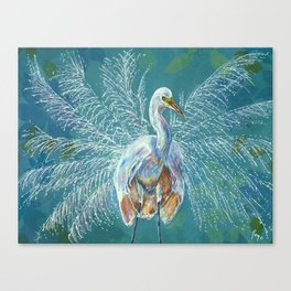 The Great White Canvas Print