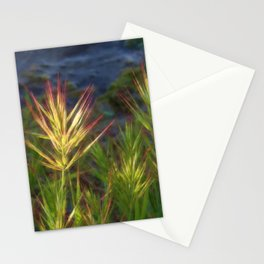 Wild Grass at Oro Vista Stationery Cards