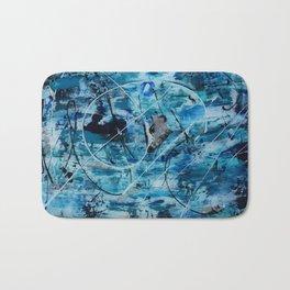 Sea motion Bath Mat