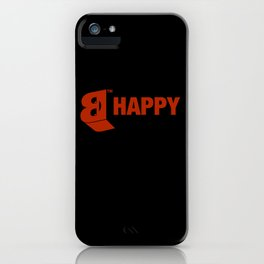 B-HAPPY #2 iPhone Case