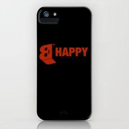 B-HAPPY #2 iPhone Case