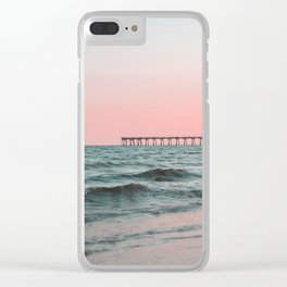 Pink Ocean Clear iPhone Case