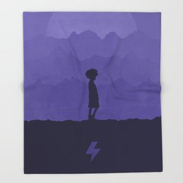 Killua Throw Blanket