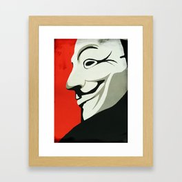 Fawkes Framed Art Print