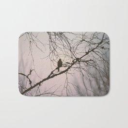 Bird and branches Bath Mat