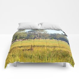 Life on the Land Comforters