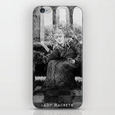 LADY MACBETH iPhone & iPod Skin