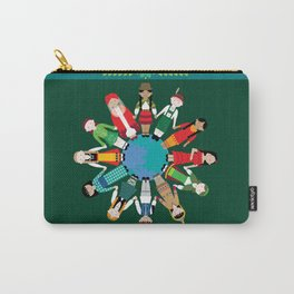 Kids Around the World Design Carry-All Pouch