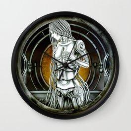 """""""Astrological Mechanism - Virgo"""" Wall Clock"""