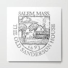 The Old Sanderson House Metal Print