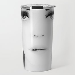 Disappear b&w Travel Mug