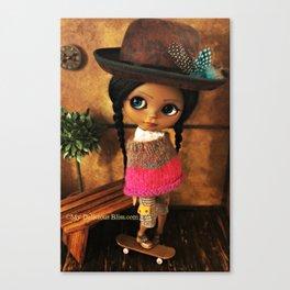 My Delicious Bliss Custom Doll Evangeline Canvas Print