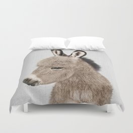Donkey - Colorful Duvet Cover