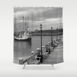 New Species Heading Home Shower Curtain