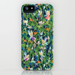 Emerald Fairy Forest iPhone Case