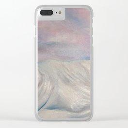 Salisbury Plain Snow Clear iPhone Case