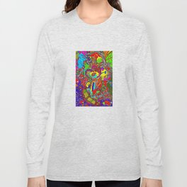 Anatomy of thought in Colour Long Sleeve T-shirt