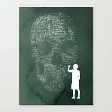 Equation Canvas Print