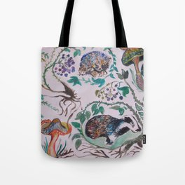 Forest Scene Tote Bag