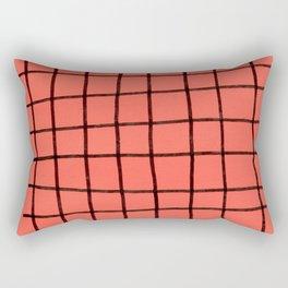Flashy grid Rectangular Pillow