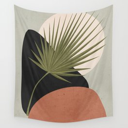 Tropical Leaf- Abstract Art 5 Wall Tapestry