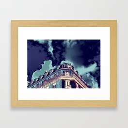 Parisian Mosaic - Piece 13 - Drama  Framed Art Print