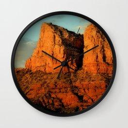 RED ROCKS - SEDONA ARIZONA Wall Clock