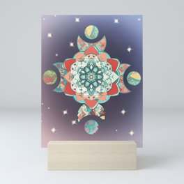 Moon Mandala Mini Art Print