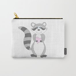 Raccoon Love Carry-All Pouch