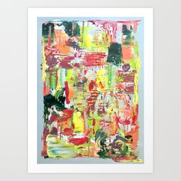 Melted Candy Art Print