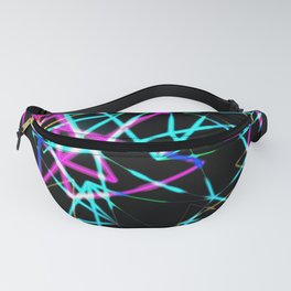 Neon lights Fanny Pack