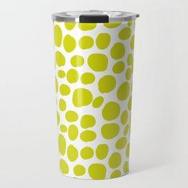 Yellow hand drawing seamless pattern Travel Mug