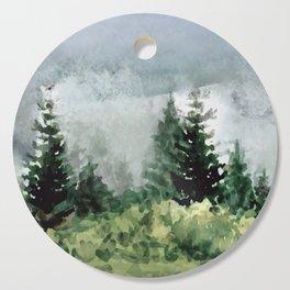 Pine Trees 2 Cutting Board