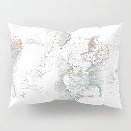 White smoke Pillow Sham